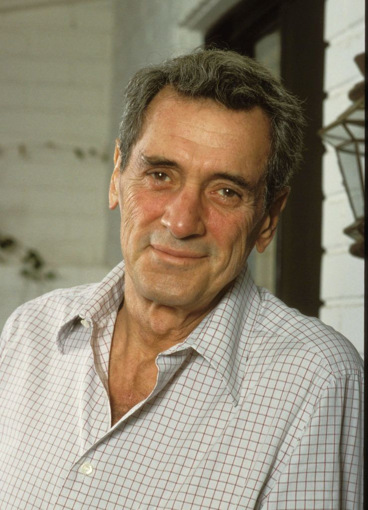 Rock Hudson at home in November 1984 (Photo by Bob Riha Jr/WireImage)