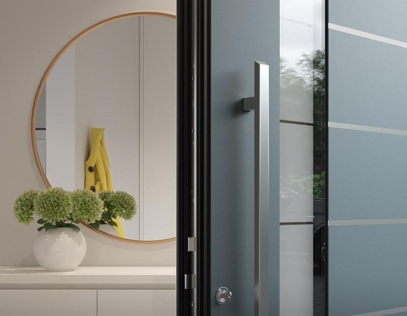 Alumínium bejárati ajtókat